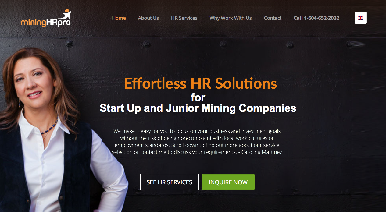 miningHRpro.com - Websites for Consultants and HR Professionals -