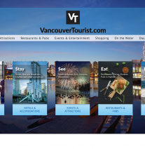 VancouverTourist.com - Example of Tourism Websites